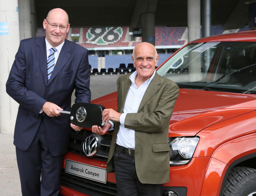 Hannover 96 erhält neue Dienstfahrzeuge