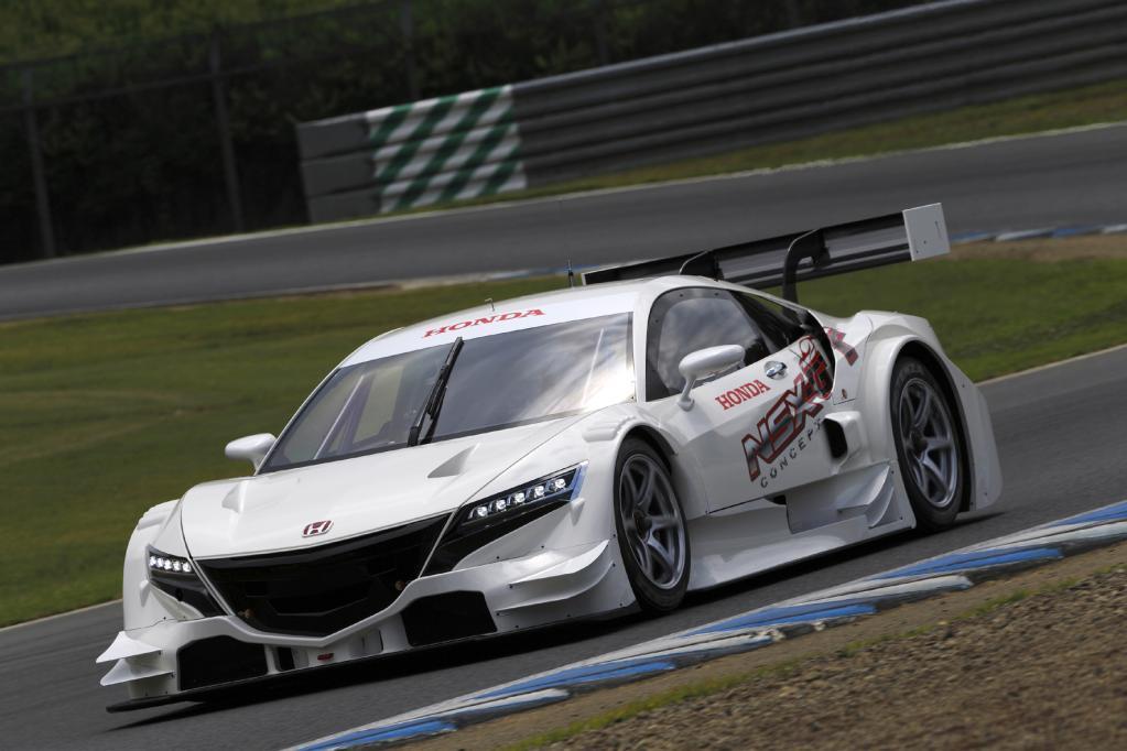 Honda präsentiert Rennwagen für japanische GT-Serie