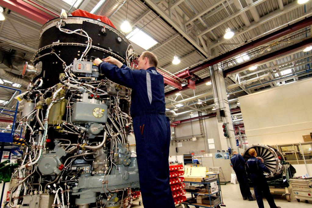 Hundert Jahre Rolls-Royce-Flugmotoren