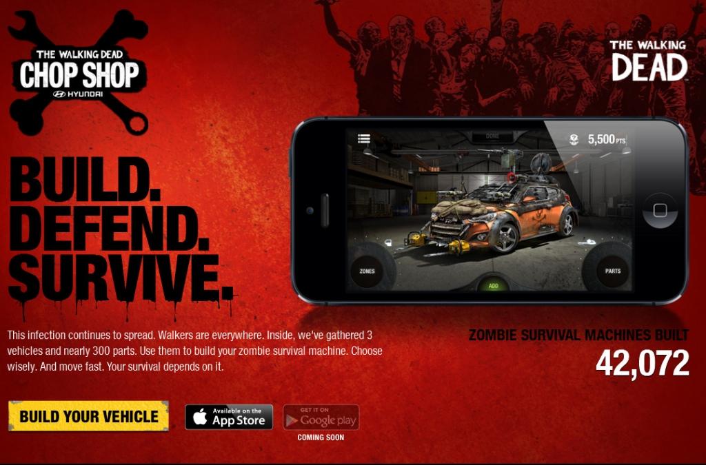 Hyundai-App: Auto für die Zombie-Apokalypse zum selber bauen