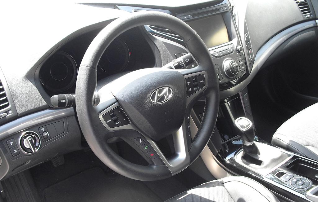 Hyundai i40: Blick ins Cockpit.