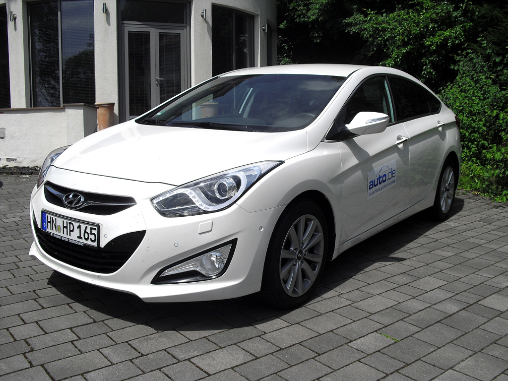 Hyundai i40, hier als Spitzendiesel mit 100/136 kW/PS.