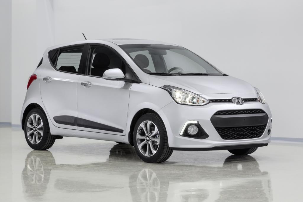 Hyundai zeigt die ersten Bilder seines neuen Modells i10.