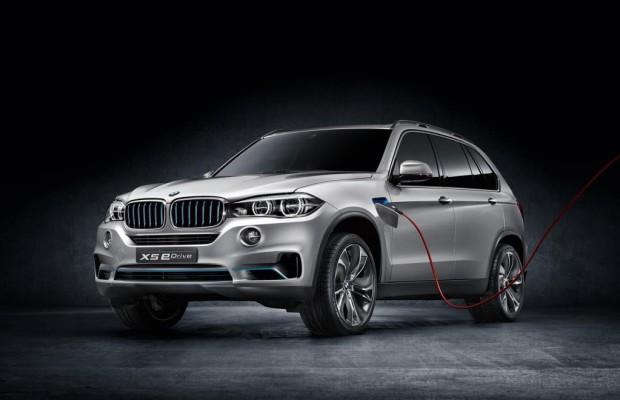 IAA 2013: BMW Concept X5 eDrive - Großer SUV mit minimalem Verbrauch