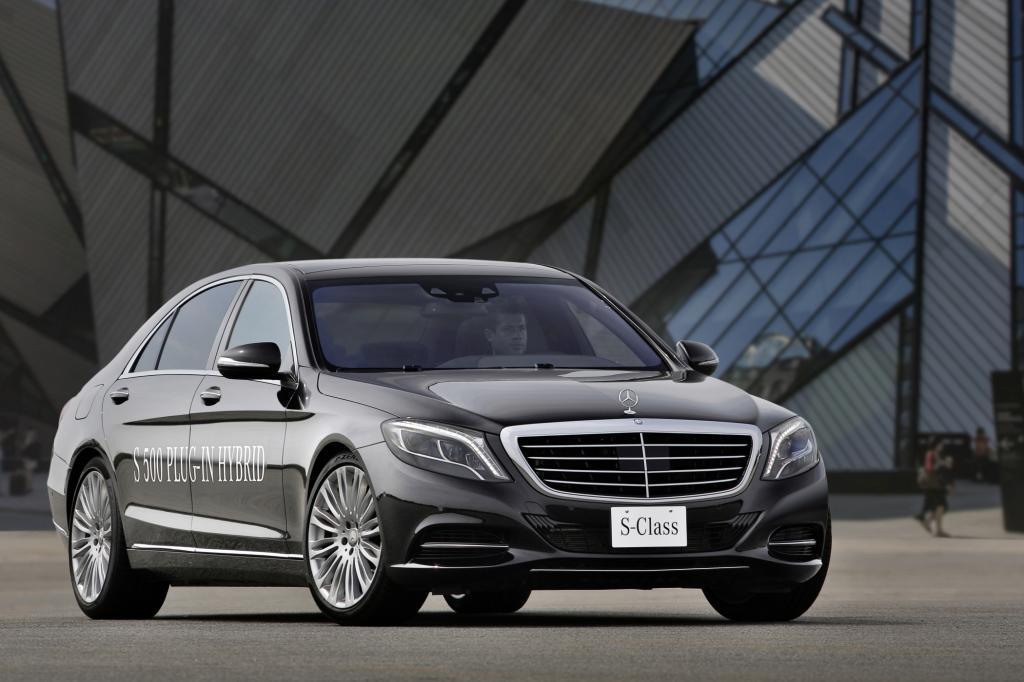IAA 2013: Mercedes S 500 Plug-in-Hybrid -  Strom hilft sparen