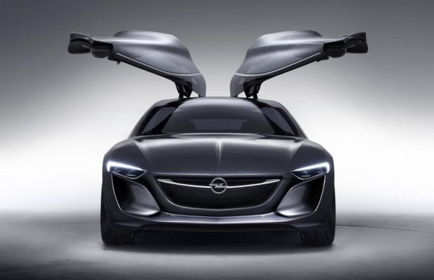 IAA 2013: Opel Monza Concept -  Nach vorne