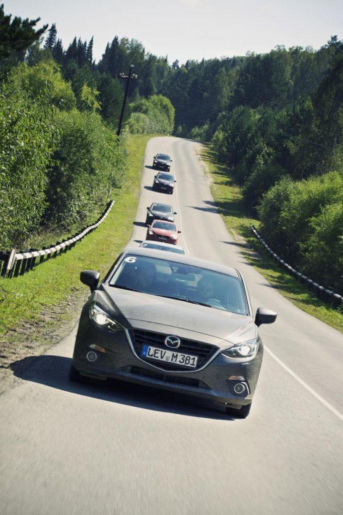 Im Mazda 3 durch Sibirien: Das gefühlte Ende der Welt