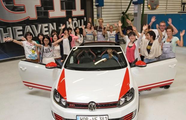 Japanische Jugendbotschafter informieren sich bei VW