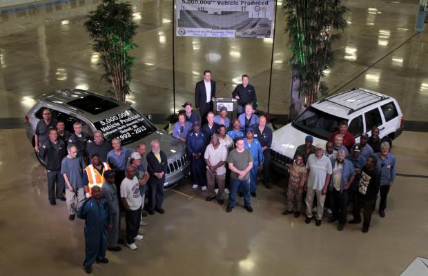 Jeep produziert fünfmillionsten Grand Cherokee