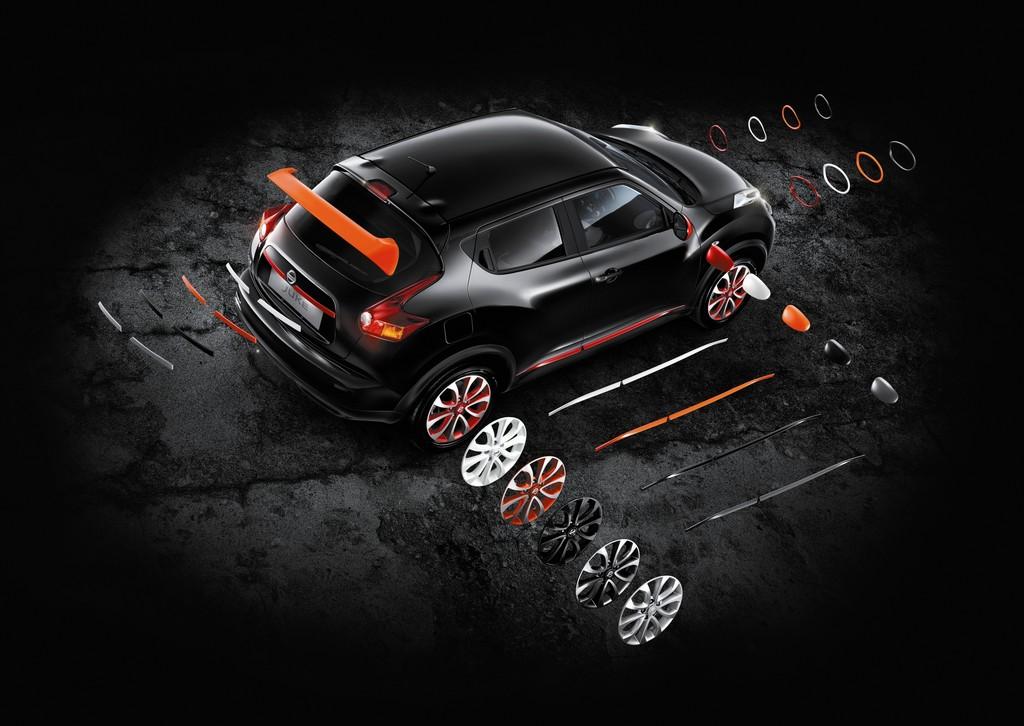 Kunden können Nissan Juke neu einfärben