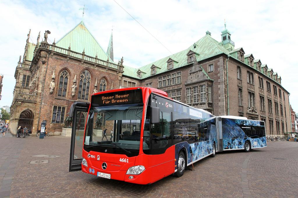 Mercedes-Benz Citaro G für Bremer Straßenbahn