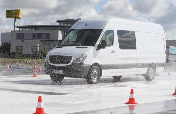 Mercedes-Benz bietet kostenloses Transporter-Training