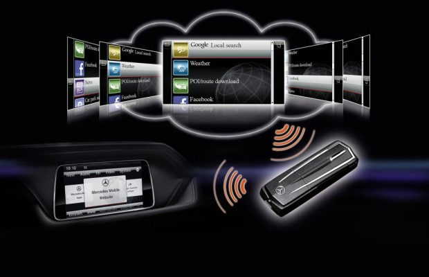 Mercedes C- und E-Klasse erhalten Comand Online-System