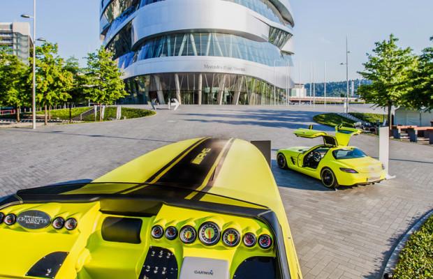 Mercedes zeigt im Museum die Zukunft