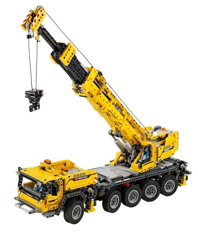 Mobiler Schwerlastkran bisher größtes Lego Technic-Modell