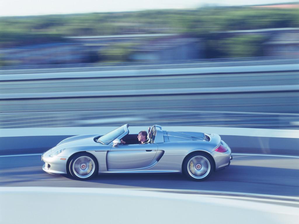 Neu entwickelter Reifen für den Porsche Carrera GT
