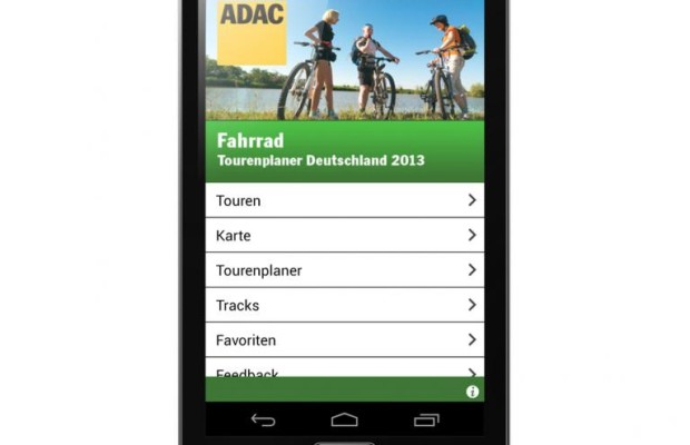 Neue App: ADAC Fahrradtourenplaner