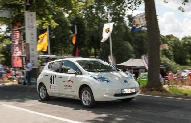 Nissan Leaf gewinnt Bergrennen