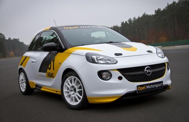 Opel Adam R2: Weltpremiere bei der Deutschland-Rallye