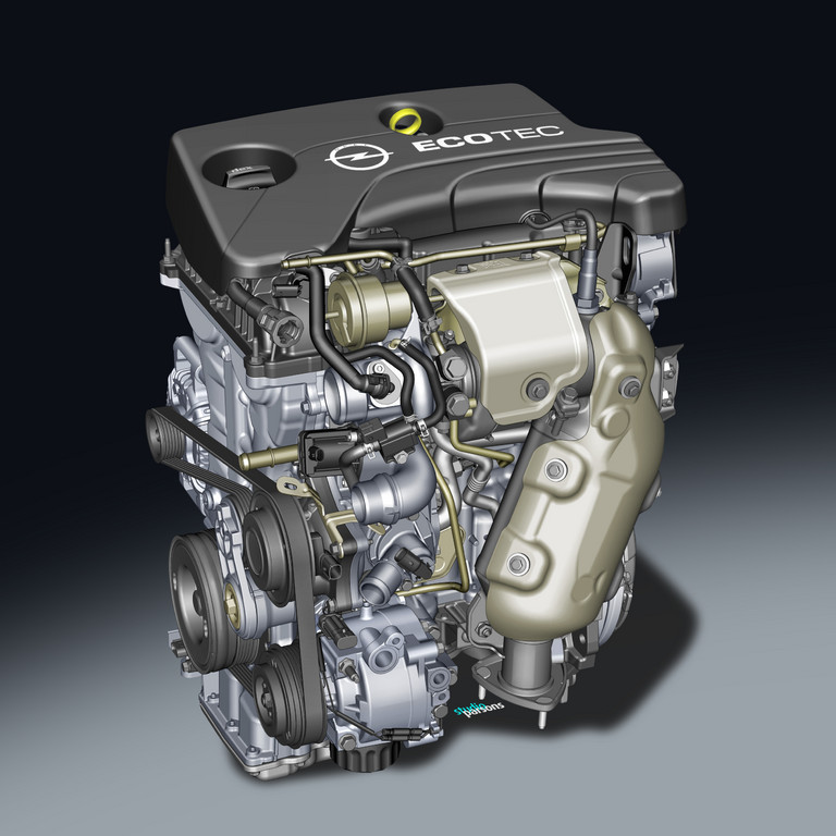 Opel gibt mit neuem Dreizylinder-Turbo Gas