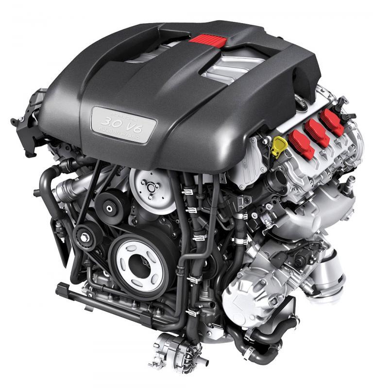 Porsche Panamera Hybrid: Der Sechszylinder-Kompressorbenziner leistet 245/333 kW/PS.