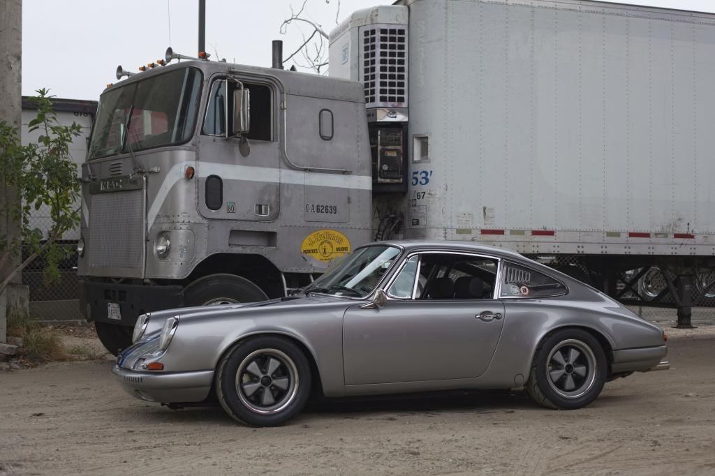 Porsche-Sammler in Los Angeles