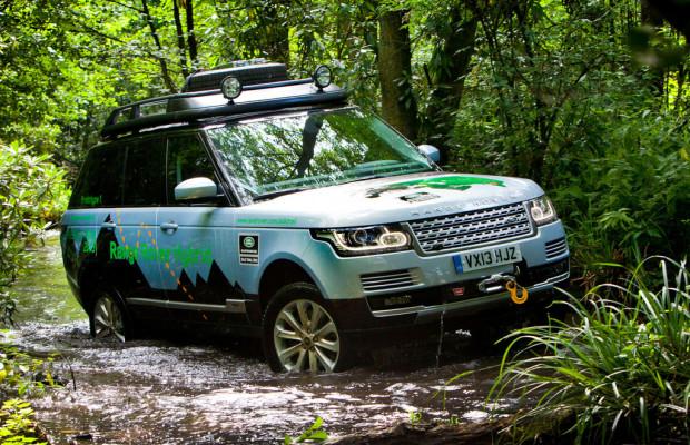 Range Rover: Mit Diesel-Hybrid über die Seidenstraße
