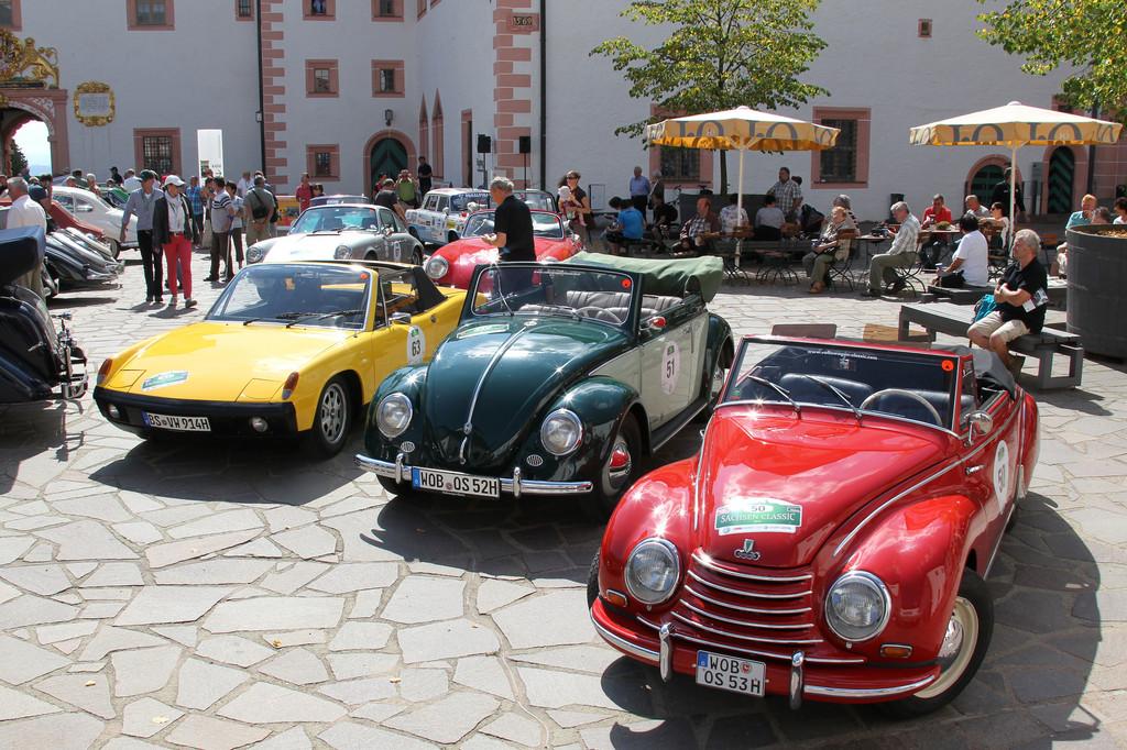 Sachsen Classic 2013: Horchs, Honeckers Limousine und ein großes Hallo