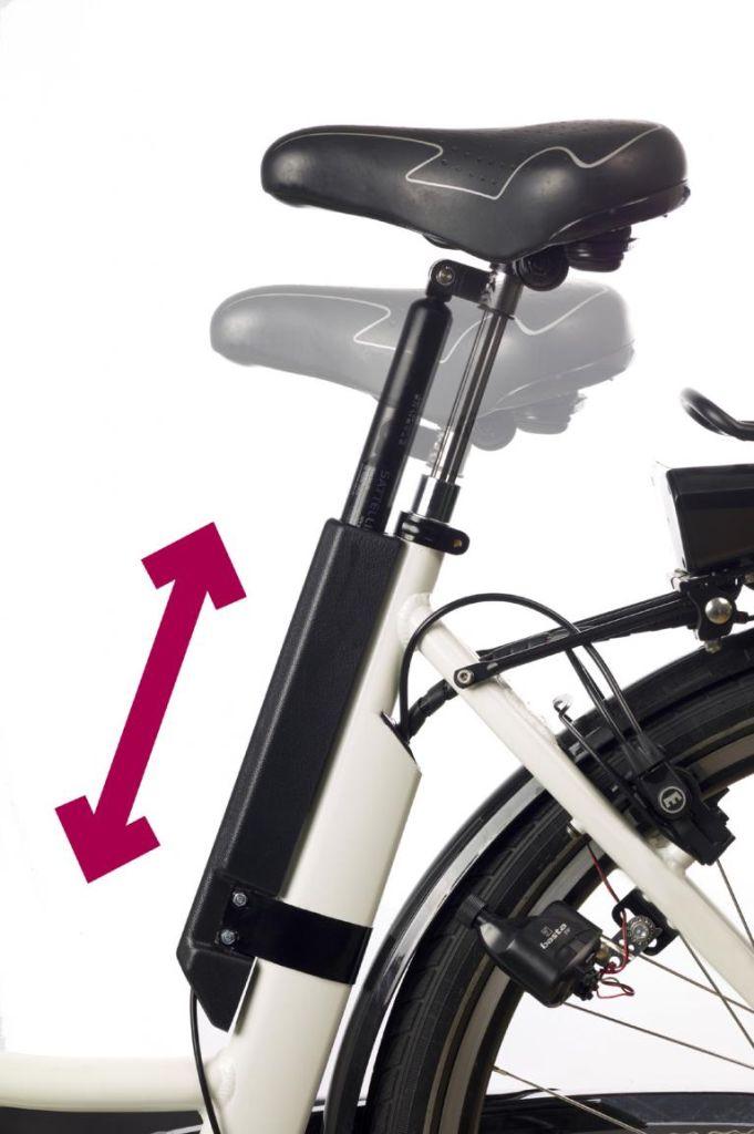 Sattellift erhöht den Komfort beim Radfahren
