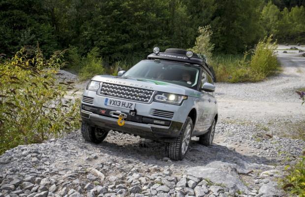 Seidenstraßen-Tour: Prolog mit einem Range Rover Hybrid
