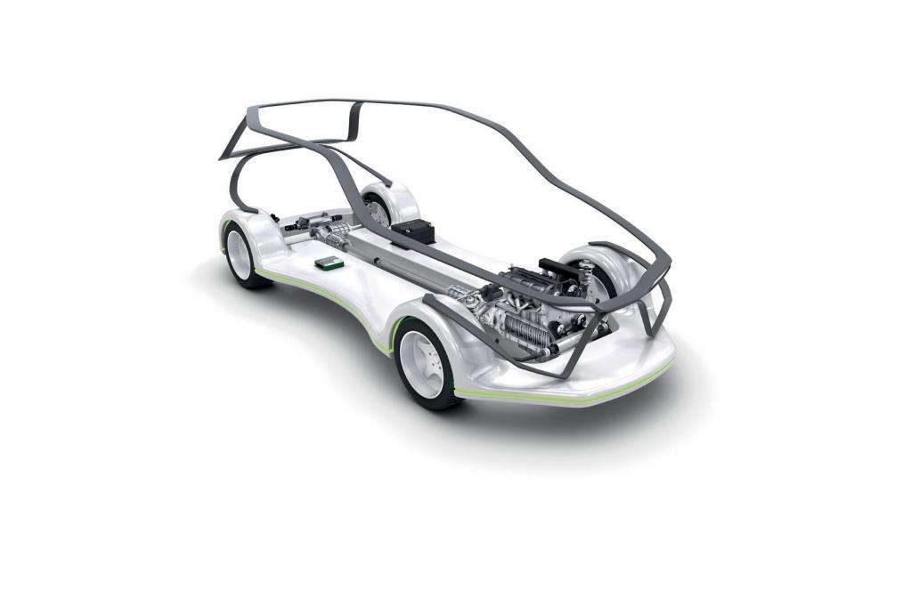 Smarte Hybrid-Antriebe nutzen 48-Volt-Bordnetz