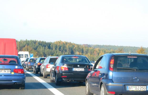 Stauprognose: Hohes Verkehrsaufkommen erwartet