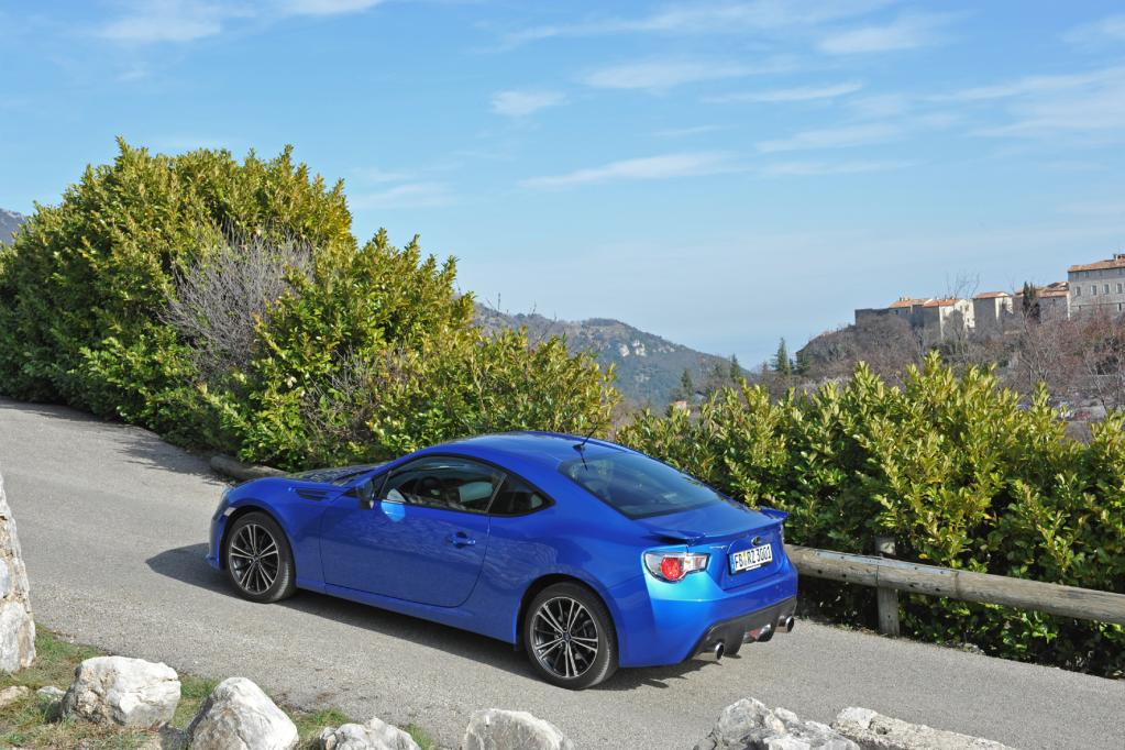 Subaru BRZ: 50 Prozent ist fast doppelt so gut