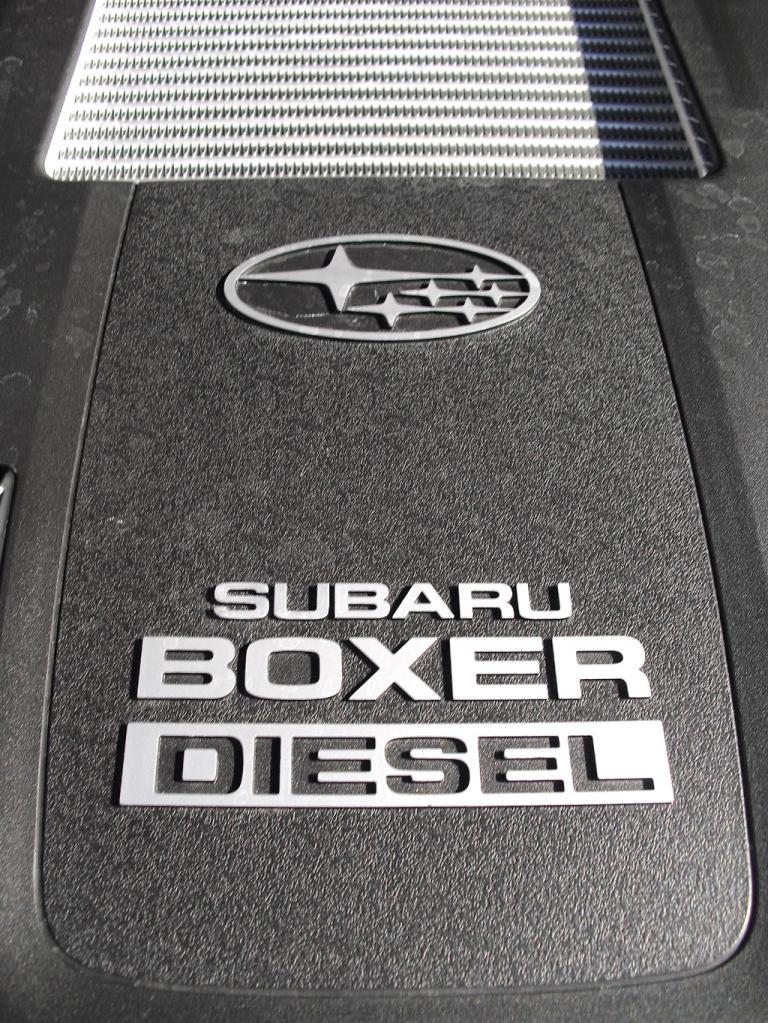 Subaru kombiniert die stufenlose Automatik mit Boxerdiesel und Allradantrieb.