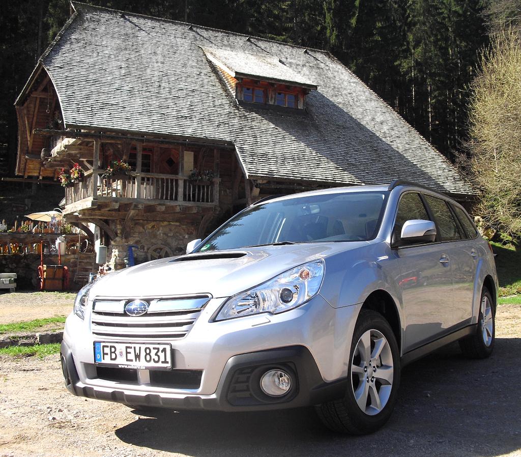 Subarus Outback ist schon mit der neuen Lineartronic zu haben.
