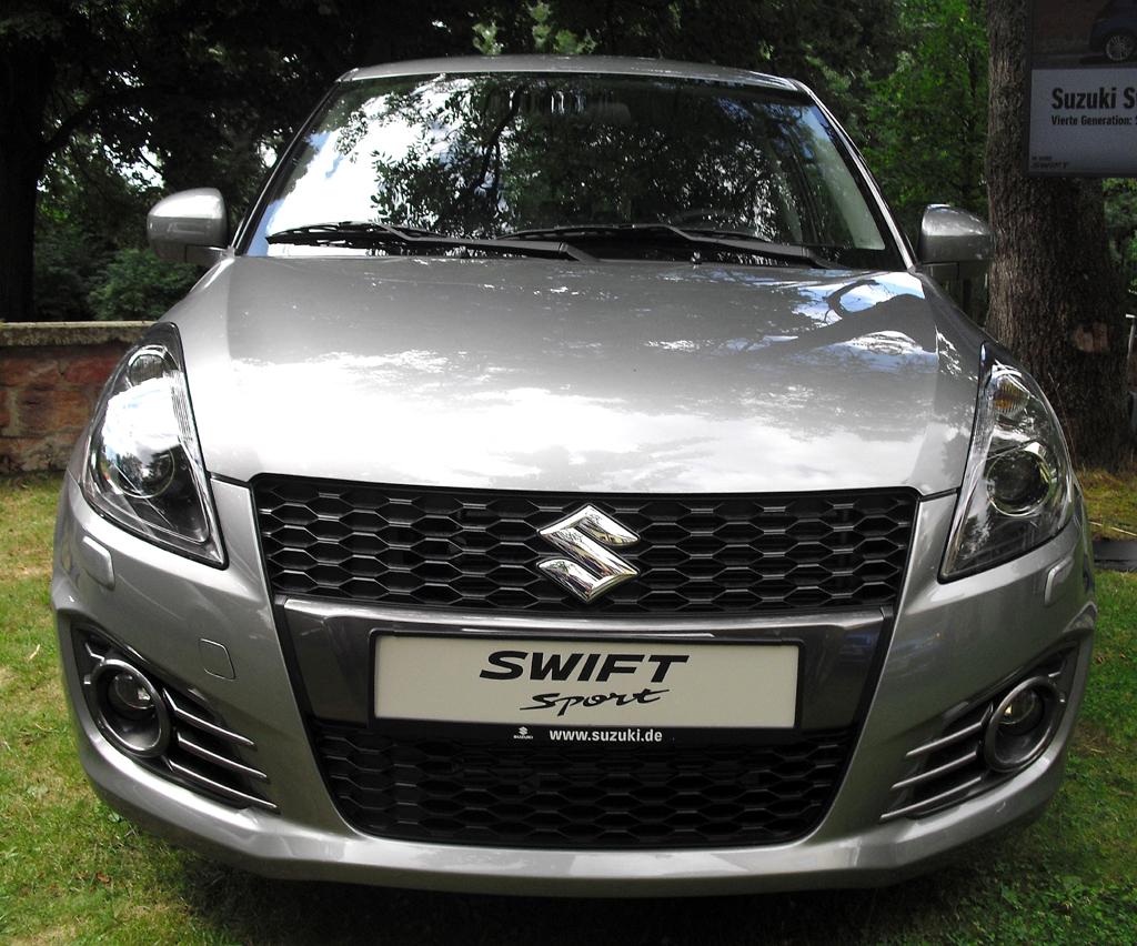 Suzuki Swift Sport: Blick auf die Frontpartie.