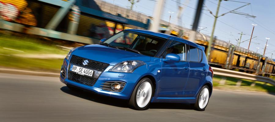 Suzuki Swift Sport: Topmodell der Baureihe mit fünf Türen