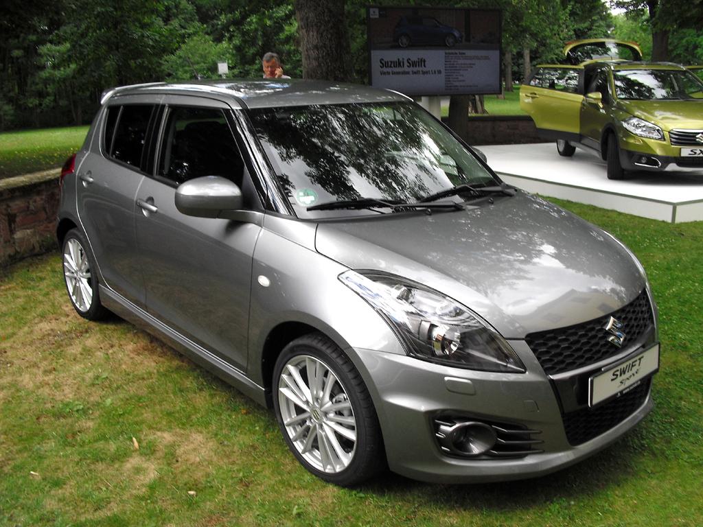 Suzukis Swift Sport gibt es neu jetzt auch als Fünftürer.