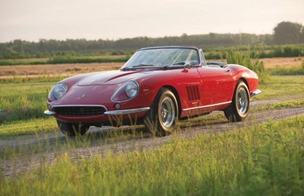 Teuerster Ferrari der Welt versteigert - Fabelhafter V12