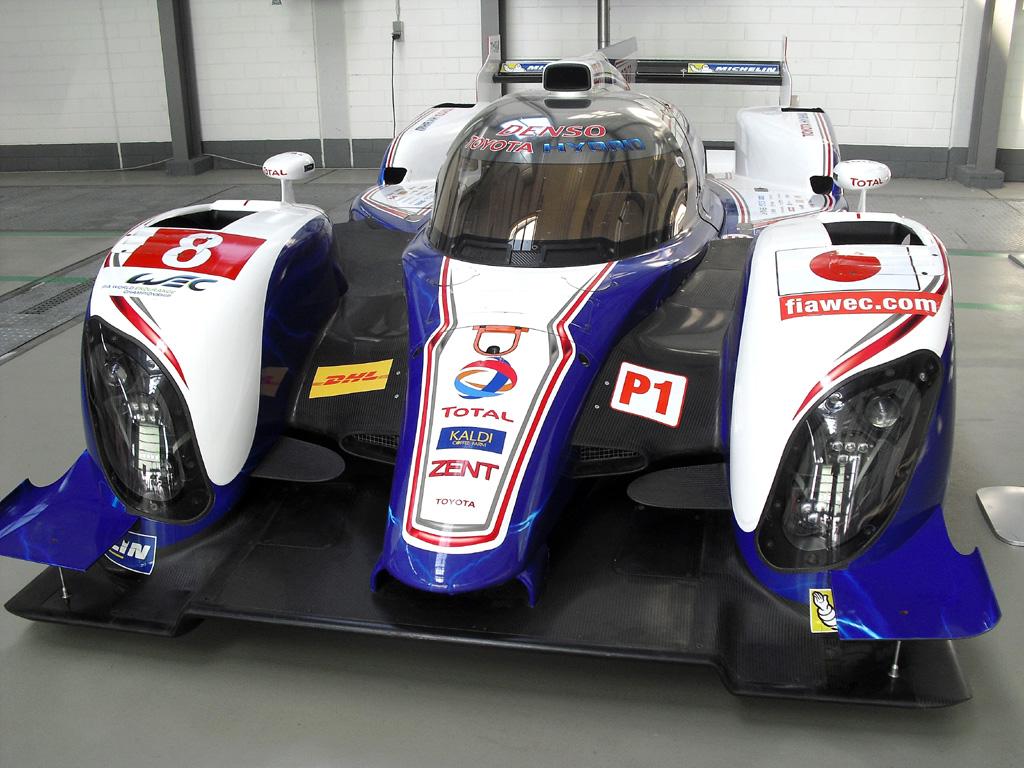 Toyota-Fahrspaß: Le-Mans-Prototyp TS030 Hybrid.