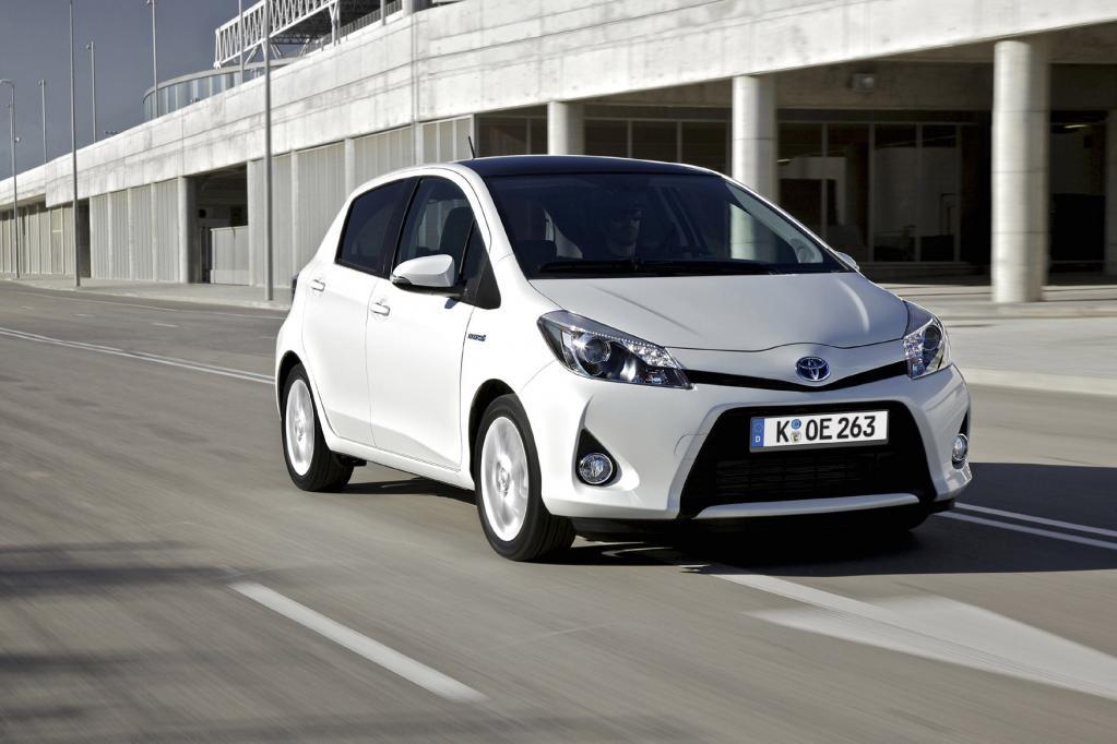 Toyota Yaris Hybrid gewinnt Öko-Test