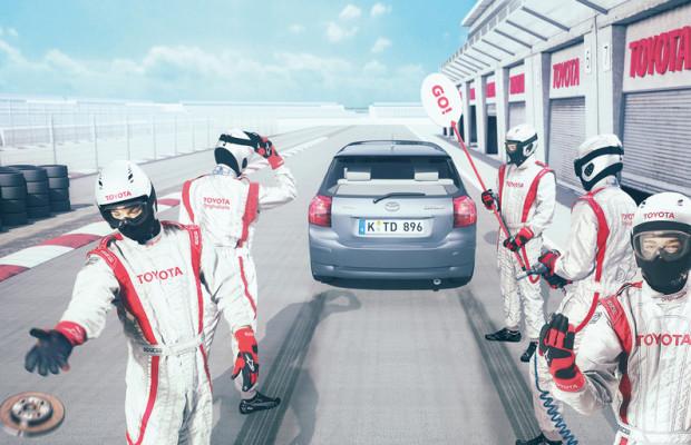 Toyota veranstaltet