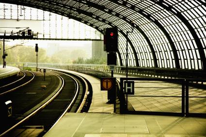 Transporte im Schienenverkehr rückläufig