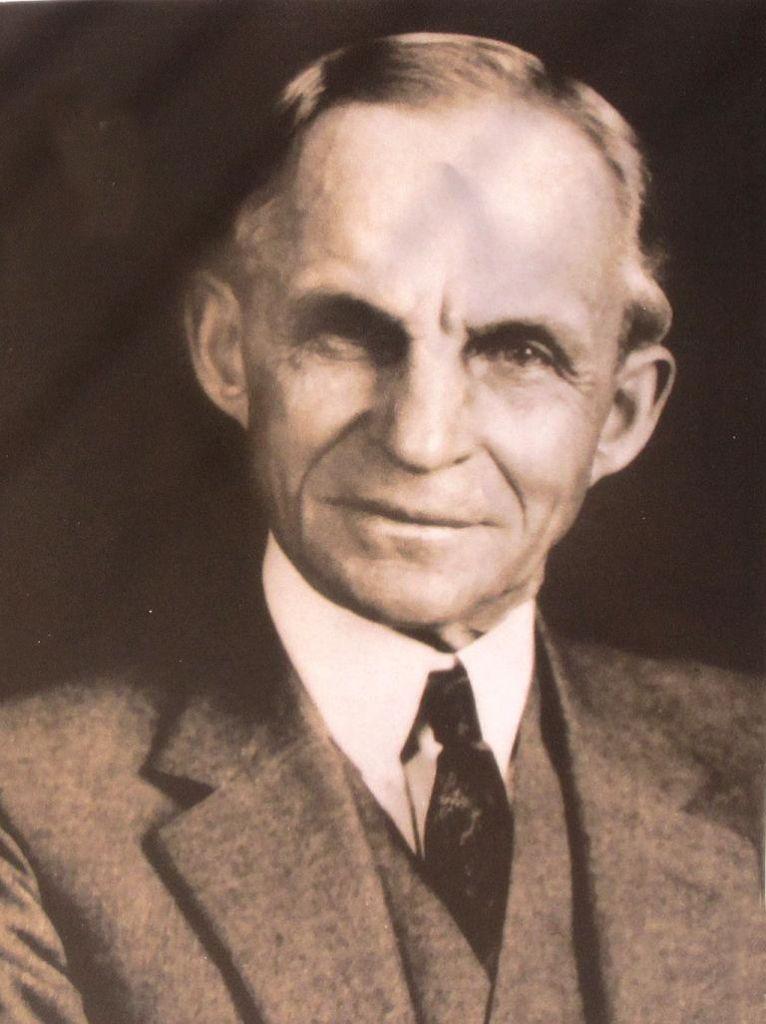 Unternehmensgründer Henry Ford (1863-1947).