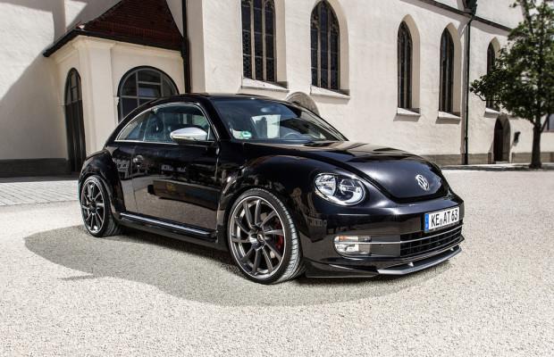 VW Beetle wird bei Abt gechippt