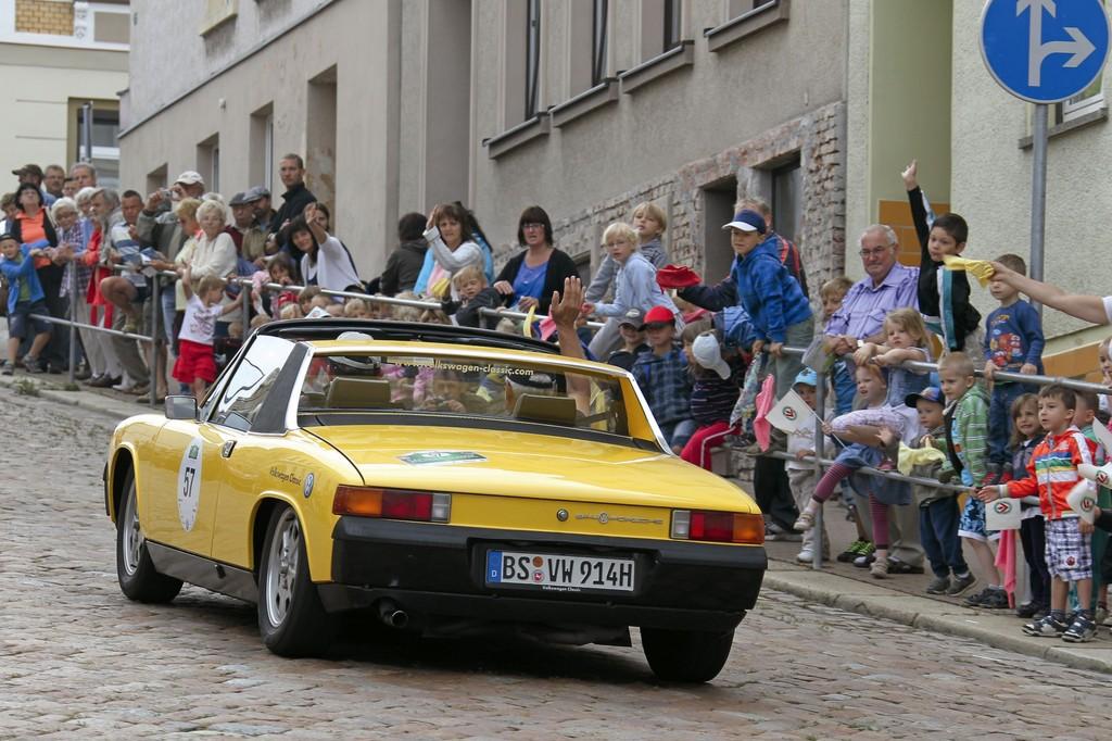 VW schickt zwölf Oldtimer zur Sachsen Classic