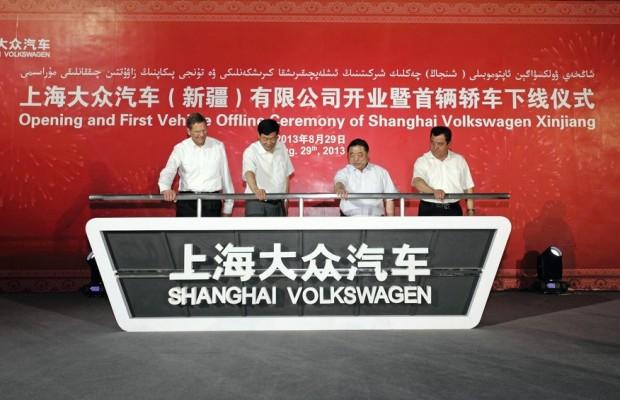 Volkswagen Konzern leistet Pionierarbeit in Westchina