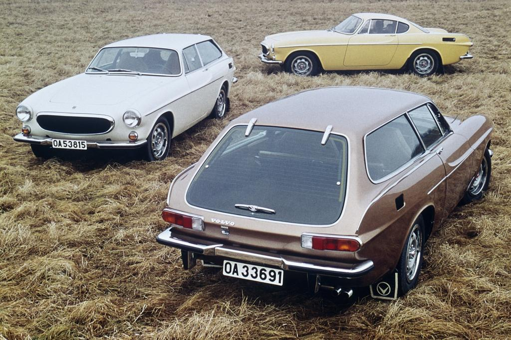 Volvo 1800E und 1800 ES modelljahr 1972