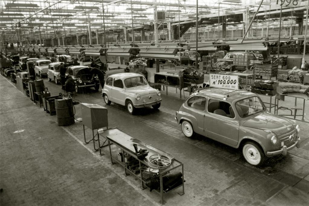 Vor 40 Jahren rollte der Seat 600 aus