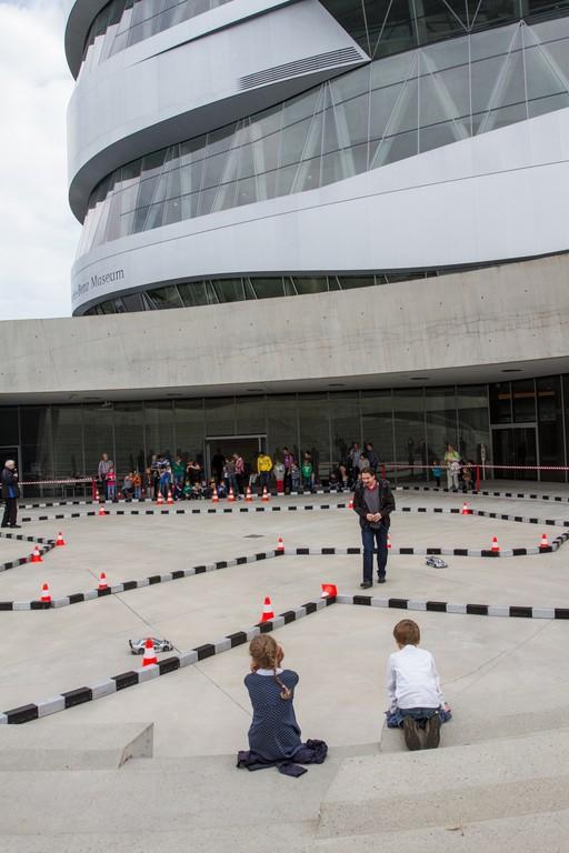 Weltkindertag im Mercedes-Benz-Museum